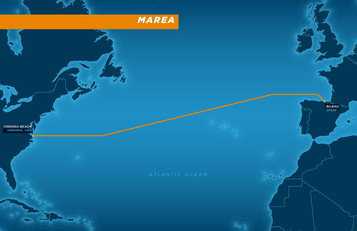 MAREA Transatlantic Subsea Cable System